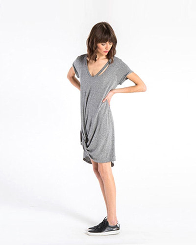 N.PHILANTHROPY morrison dress heather grey
