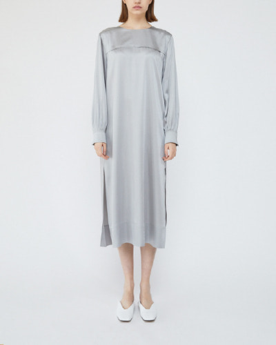 ┃HACER SEOUL┃ 18 SPRING LONG SLEEVE CLASSIC DRESSgrey