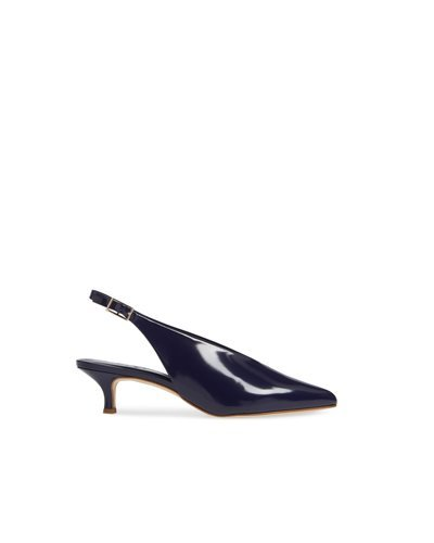 TIBI lia polished calf  violet